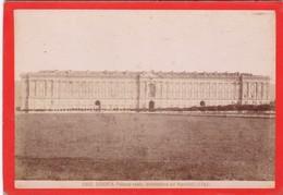 1870s GIACOMO BROGI: CASERTA. PALAZZO REALE, ARCHITETTURA DEL VANVITELLI  - OLD ALBUMINA FOTO 16x11cm ORIGINAL- BLEUP - Foto