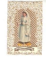 Canivet  Blanc Et Or .   Souvenir De Première Communion - Devotion Images