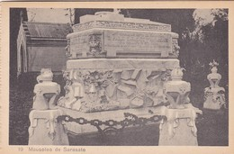 1910s CPA- MAUSOLEO DE SARASATE. VINTAGE PANORAMA D'EPOQUE. EDICION PAMPLONA FOTO A.DE LEON - BLEUP - Navarra (Pamplona)