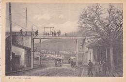 1910s CPA- PORTAL NUEVO. VINTAGE PANORAMA D'EPOQUE. EDICION PAMPLONA FOTO A.DE LEON - BLEUP - Navarra (Pamplona)