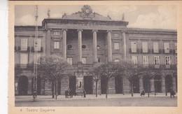 1910s CPA- TEATRO GAYARRE. VINTAGE PANORAMA D'EPOQUE. EDICION PAMPLONA FOTO A.DE LEON - BLEUP - Navarra (Pamplona)