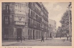 1910s CPA- CALLE DE LAS NAVAS DE TOLOSA. VINTAGE PANORAMA D'EPOQUE. EDICION PAMPLONA FOTO A.DE LEON - BLEUP - Navarra (Pamplona)