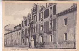 1910s CPA- CUARTEL DE CABALLERIA. VINTAGE PANORAMA D'EPOQUE. EDICION PAMPLONA FOTO A.DE LEON - BLEUP - Navarra (Pamplona)