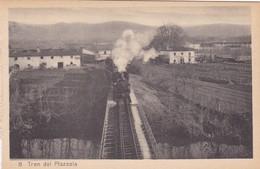1910s CPA- TREN DE PLAZAOLA. TRAIN TRAMWAY VINTAGE PANORAMA D'EPOQUE. EDICION PAMPLONA FOTO A.DE LEON - BLEUP - Navarra (Pamplona)