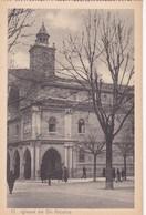 1910s CPA- IGLESIA DE SAN NICOLAS. VINTAGE PANORAMA D'EPOQUE. EDICION PAMPLONA FOTO A.DE LEON - BLEUP - Navarra (Pamplona)