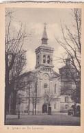 1910s CPA- IGLESIA DE SAN LORENZO. VINTAGE PANORAMA D'EPOQUE. EDICION PAMPLONA FOTO A.DE LEON - BLEUP - Navarra (Pamplona)