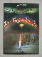 Ancien Fascicule - Opéra Allemand Der Freischûtz TMP Châtelet - 1988 - Programs