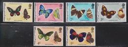 BELIZE Scott # 345-50 MNH - Butterflies - Belize (1973-...)