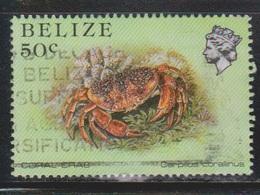 BELIZE Scott # 708 Used - Coral Crab - Belize (1973-...)
