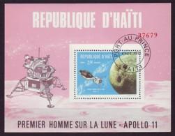 Haiti Haïti 1969 - Block 40 Mit MiNr. 1089 O Used - Apollo 11 - Haiti