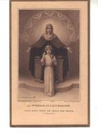 La Sainte-Vierge  Et L'Eucharistie .- Tout Nous Vient De Jésus Par Marie (St Bernard). Illustrateur  E.Azambre - Devotion Images