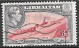 1942 King George VI, 6p, Used - Gibraltar