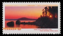 Canada (Scott No.2223i - Terra Nova) [**] Autocollant / Selfadhesive - NOTE-DC - Neufs