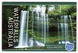 Australia Australie 2008 Prestige Booklet Landscape Waterfalls Geologie Russell Falls Tasmania Landschaft Paysage - Geology