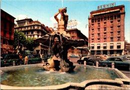 Italy Roma Fontana Del Tritone Bernini - Roma (Rome)