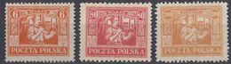 POLONIA - POLSKA - 1922/1923 - Lotto Di 3 Valori Nuovi Senza Gomma: Yvert 254, 258 E 260. - 1919-1939 Republik