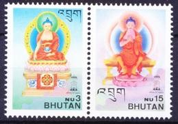 Bhutan 1997 MNH, Lord Buddha, Indepex 1997   ( - Buddhismus