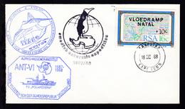 OSt. Kapstadt 18 III 88 + Cachet FS Polarstern Auf Brief Ohne Anschrift - Unclassified