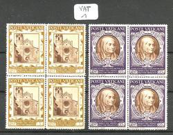VAT YT128/139  En Bloc De 4 En XX - Unused Stamps