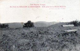 Ballon Cde Servance, Vue Prise De La Haute Planche - France