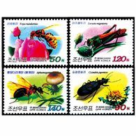 2009 North Korea Stamp  Insects  Honey Bee 4v - Abeilles