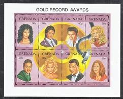 GRENADA  2156    **    MUSIC  GOLD  RECORD  AWARDS - Music