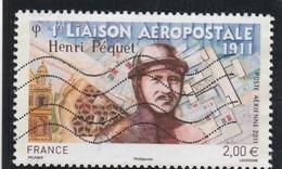 FRANCE 2011 OBLITERE HENRI PEQUET  PA74 - PA 74  -- - Airmail
