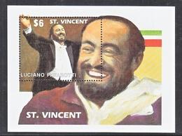 ST.  VINCENT  1505   **    MUSIC   LUCIANO  PAVAROTTI - Music