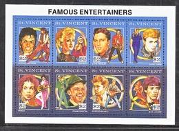 ST.  VINCENT  1564   **    MUSIC   FAMOUS   ENTERTAINERS - Music