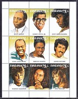 TANZANIA  811    **    MUSIC   BLACK  ENTERTAINERS - Music