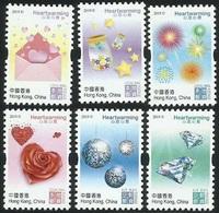 China Hong Kong 2019 Valentine's Day/Heartwarming Stamps 6v MNH - Ongebruikt