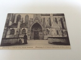 BW - 2300 - STRASBOURG - Portail De L'Eglise Protestante St Pierre Le Jeune - Strasbourg