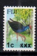 FIJI, MNH, BIRDS, OVERPRINTS, 1c ON 44c - Birds