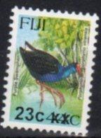 FIJI, MNH, BIRDS, OVERPRINTS, 23c ON 44c - Birds