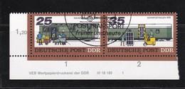 DDR, Nr. W Zd 364 DV, Gest. (K 4150b) - DDR