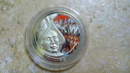 Auszeichnung LA GARDE SUISSE DIE SCHWEIZER GARDE LA GUARDIA SVIZZERA (1506//2006 500 Ans) BLASON VATICAN NICKEL COULEUR - Jetons & Médailles