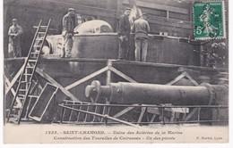 42  Loire -  Usine Des Aciéries De La Marine - SAINT-CHAMOND - Construction Des Tourelles De Cuirassés - Un Des Pivots - Industrie