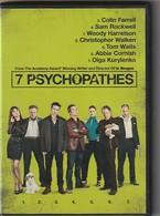 Dvd  7 PSYCHOPATHES    Etat: TTB  Port 110 Gr Ou 30 Gr - Krimis & Thriller