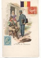 18990 - La POSTE En BELGIQUE - Timbres (représentations)