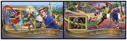 Togo 2016 - Rio 2016 Summer Games Official Issue Stamp Set Mnh - Verano 2016: Rio De Janeiro
