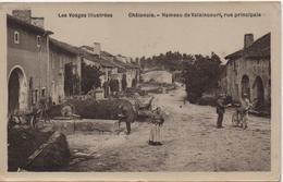 CHATENOIS  HAMEAU DE VALAINCOURT  RUE PRINCIPALE - Chatenois