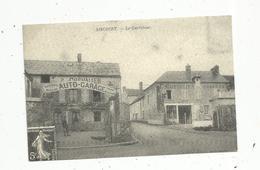 Reproduction De Cp , Automobile, GARAGE P. CHEVALIER ,  78 AINCOURT ,le Carrefour - Vari