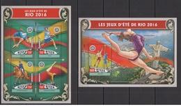 Niger 2016 - Rio 2016 Summer Games Official Issue Stamp Set Mnh - Verano 2016: Rio De Janeiro