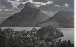 AK 0268  Traunkirchen ( Mondnacht ) - Verlag Brandt Um 1906 - Traun