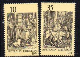 AUSTRALIA, 1974 XMAS 2 MNH - Ongebruikt
