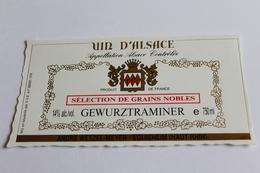 Etiquette De Vin Neuve Jamais Servie GEWURZTRAMINER   Andre Wetzel Meyer Eguisheim Selection De Grains Nobles - Gewurztraminer