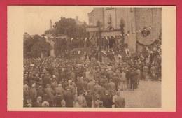 Havelange - Congrès Eucharistique Du 2 Août 1931 - La Foule En Face De L'église ( Voir Verso ) - Havelange