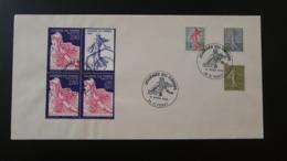 Lettre FDC Semeuse De Roty Journée Du Timbre 1996 St-Priest 69 Rhone - France