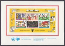 IYC FDC 1979 / Anguilla - MiNr. Block 23 / International Year Of The Child - Vereine & Verbände