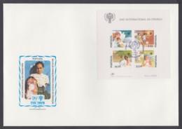 IYC FDC 1979 / Portugal - MiNr. Block 28 / International Year Of The Child - Vereine & Verbände